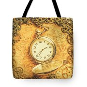 Invention Of Time Tote Bag