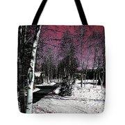 Invernal Landscape Tote Bag