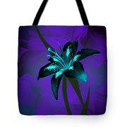 Inverse Lily Tote Bag
