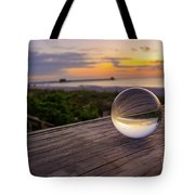 Inverse Sunset  Tote Bag