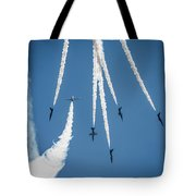 Inverted Bomb Burst  Tote Bag