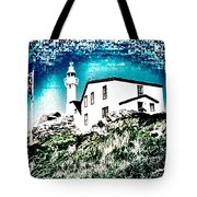 Inverted Lighthouse  Tote Bag
