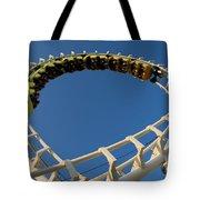 Inverted Roller Coaster Tote Bag
