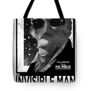 Invisible Man Movie Poster 1933 Tote Bag