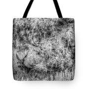 Invisible Nature One Mono  Tote Bag