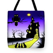 Invited To The Cat House Tote Bag