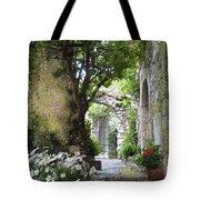 Inviting Courtyard Tote Bag