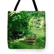 Inviting Steps In Ireland Tote Bag