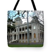 Iolani Palace, Honolulu, Hawaii Tote Bag
