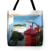 Iona Post Office Tote Bag