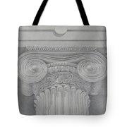 Ionic Capital Of Wall Street, Ny Tote Bag