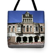 Watsonville I. O. O. F. Building Built In 1893  Damaged By The Loma Prieta Earthquake 1989 Tote Bag