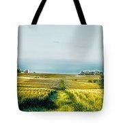 Iowa Cornfield Panorama Tote Bag
