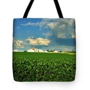 Iowa Soybean Farm Tote Bag