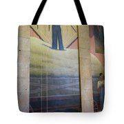 Iowa State Mural Tote Bag
