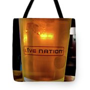 Ipa Beer In Live Nation Cup At Shoreline Amphitheatre During Dead And Company Tote Bag