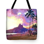 Ipanema Sunset Tote Bag