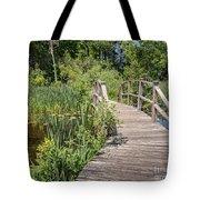 Ipswich River Bridge Tote Bag