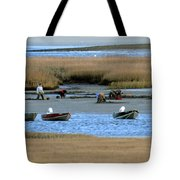 Ipswich River Clammers 2 Tote Bag