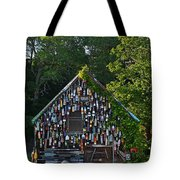 Ipswich Bay Wooden Buoy Gloucester Ma Tote Bag