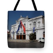 Iquique Chile Courtyard Tote Bag