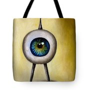 Ira The Little Alien Tote Bag