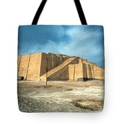 Iraq: Ziggurat In Ur Tote Bag by Granger