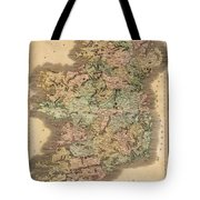 Ireland 1831 Tote Bag