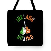 Ireland Boxing Color Light Boxers Irish Cool Gift Funny Flag Tote Bag
