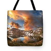Ireland Lake Sunrise - Yosemite Tote Bag