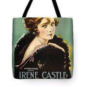 Irene Castle In The Firing Line 1919 Tote Bag
