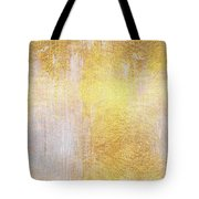 Iridescent Abstract Non Objective Golden Painting Tote Bag