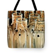 Iridescent Bottle Parade Tote Bag