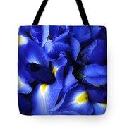 Iris Abstract Tote Bag