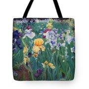 Iris Abun-dance Tote Bag