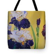 Iris Afternoon Delight Tote Bag
