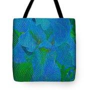 Iris Ageless Blossom  Tote Bag