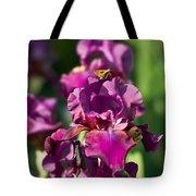 Iris And Moth Tote Bag