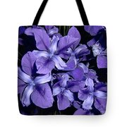 Iris At Night Tote Bag