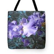 Iris Azulez Tote Bag