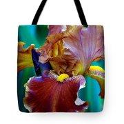 Iris Beauty Photograph Tote Bag