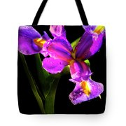 Iris Bloom Two Tote Bag