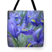 Iris Bouquet Tote Bag