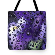 Iris Bubbles Tote Bag