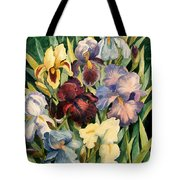 Iris Collection Tote Bag