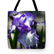 Iris Dressed For Royalty Tote Bag