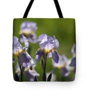 Iris Feild Tote Bag