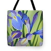 Iris Fields - Center Panel Tote Bag