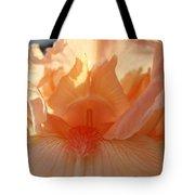 Iris Flower Art Prints Sunlit Orange Irises Baslee Troutman Tote Bag