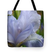 Iris Flower Blue 2 Irises Botanical Garden Art Prints Baslee Troutman Tote Bag